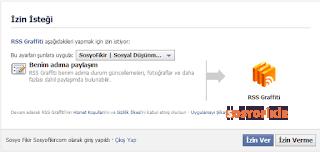 facebook, rss grafiti, rss, blogger rss