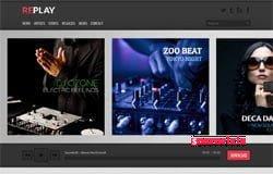 Replay Blogger Teması