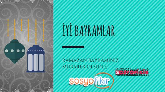 Ramazan Bayramınız Kutlu Olsun.. Sizler için en güzel bayram mesajlarını derledik..