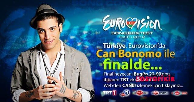 Eurovisiondayız ! Haydi Can Bonomo ! 3