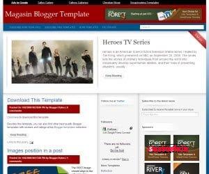 Biri Magazin Teması Mı Dedi : Magasin Tres For Blogger 1