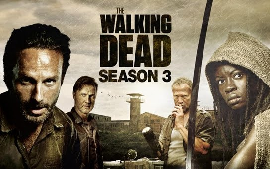 The Walking Dead Season 3 Banner Poster