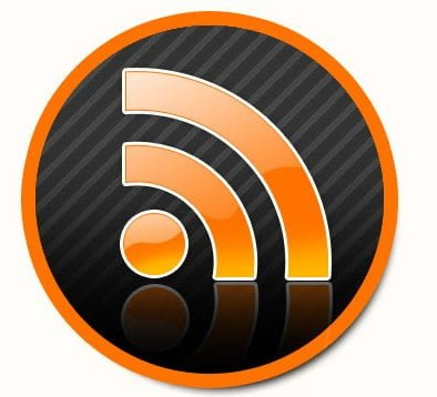 Web 2 style RSS FEED ICON with PSD