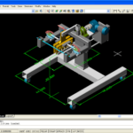model for auto cad 3