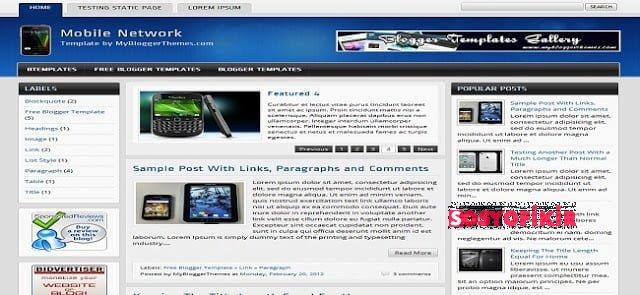 20 Adet Kaliteli Blogger Teması 2013 21