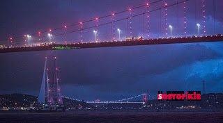Green Peace Rainbow Warrior Gemisi İstanbul'daydı 3