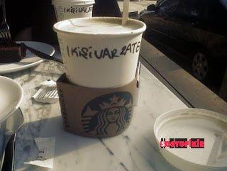 Bir Starbucks bir, incici ve bir ekşicinin yaşadığı ilginç olay 2
