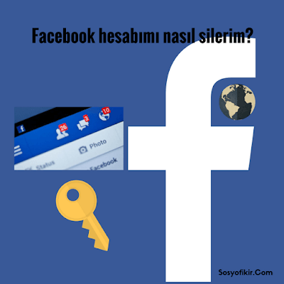 Facebook hesabını kalıcı olarak silme yöntemi adım adım.