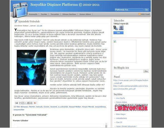 2010'daki Sosyofikir 1