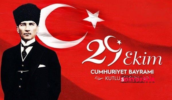 Cumhuriyetimizin 95. Yaşını Gururla Kutluyoruz. 29 Ekim 1923 Kutlu Olsun !