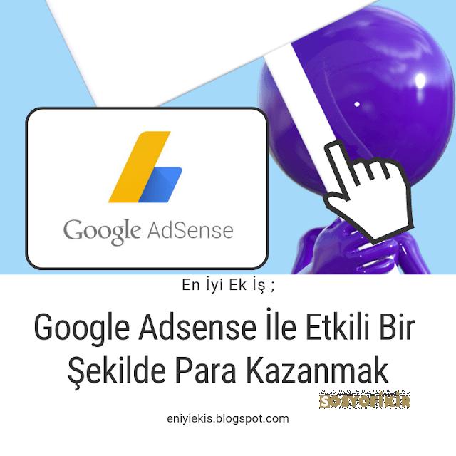 google adsense kabul edilmek