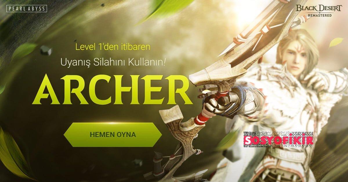 Black Desert Online Archer Uyanis Silahi