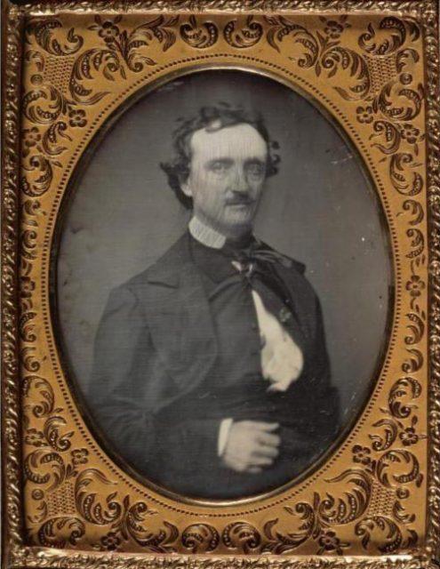 edgar allan poe by pratt 1849