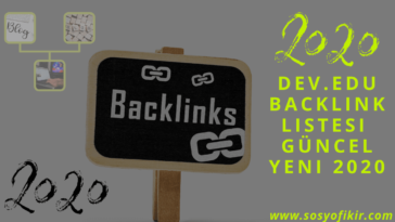 dev edu backlink