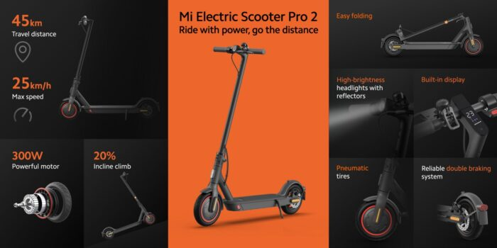 xiaomi mi electric scooter 2 pro mercedes 1
