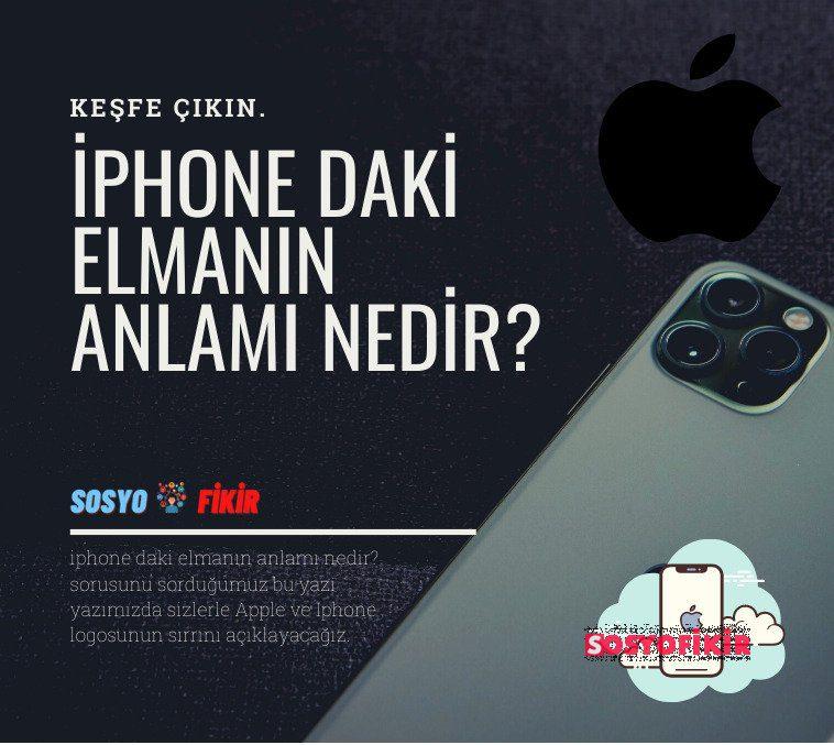 iphone daki elmanın anlamı